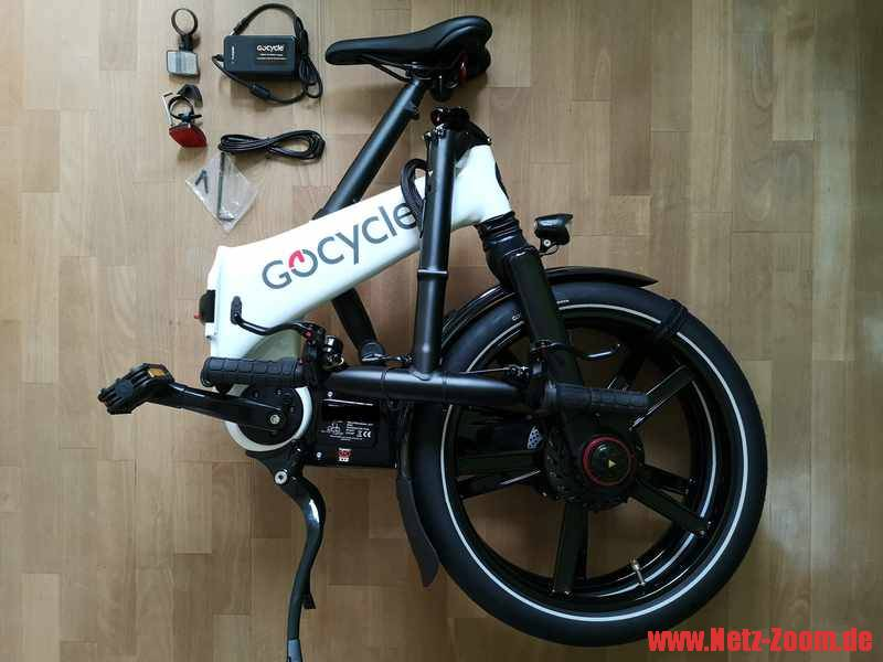 Gocycle GX Lieferumfang