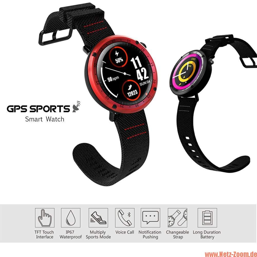 Lemfo LF22 Smartwatch in 2 Ausführungen