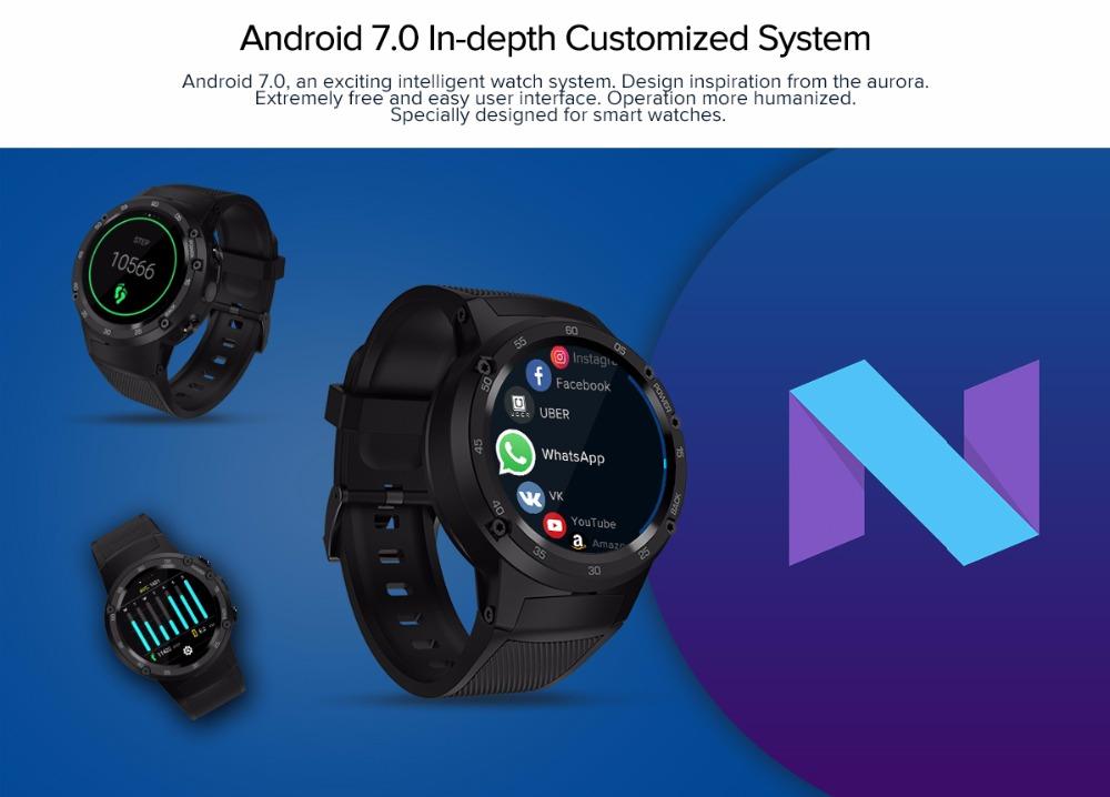 Zeblaze THOR 4 Smartwatch Android 7 OS