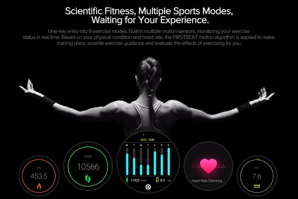Zeblaze THOR 4 Smartwatch Sport Apps